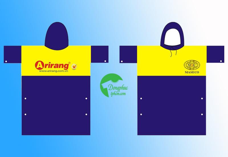 Chuyên sản xuất áo mưa cánh dơi, in áo mưa quảng cáo giá rẻ
