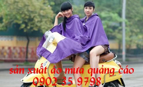 Sản xuất áo mưa theo yêu cầu, in áo mưa quảng cáo giá rẻ
