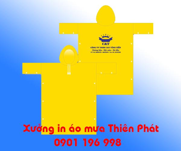 In áo mưa tại TPHCM, cơ sở may áo mưa tại TPHCM, in áo mưa quảng cáo tại TPHCM. LH : 0901 196 998