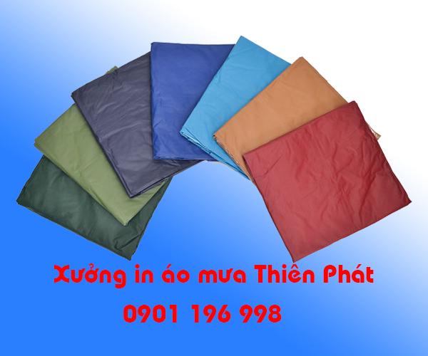 In áo mưa tại Bình Dương, sản xuất áo mưa quà tặng tại Bình Dương. LH : 0901 196 998