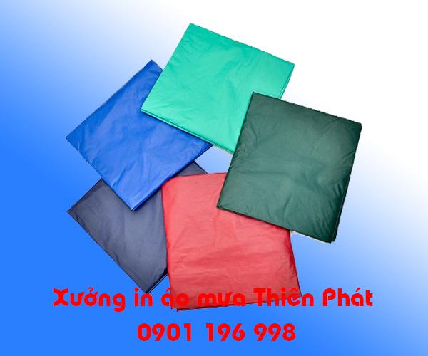 Cơ sở sản xuất áo mưa giá rẻ, in áo mưa tại Bình Dương, in áo mưa quảng cáo, sản xuất áo mưa quảng cáo. LH : 0901 196 998
