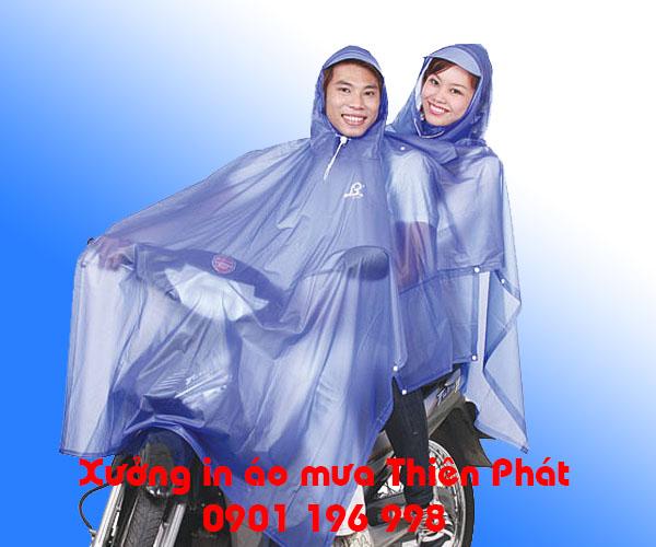 Địa chỉ sản xuất áo mưa quảng cáo, áo mưa cánh dơi tại TPHCM