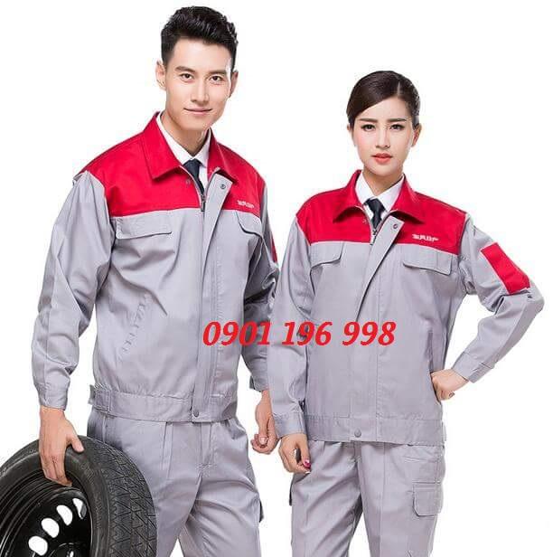 Sản xuất quần áo đồng phục kỹ sư, may áo bảo hộ lao động theo yêu cầu