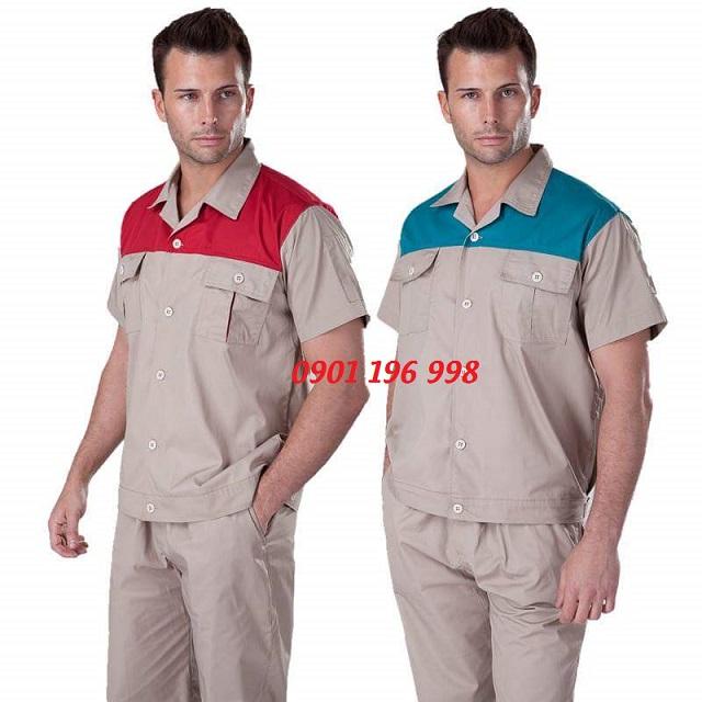 Địa chỉ chuyên may quần áo bảo hộ lao động theo yêu cầu TPHCM