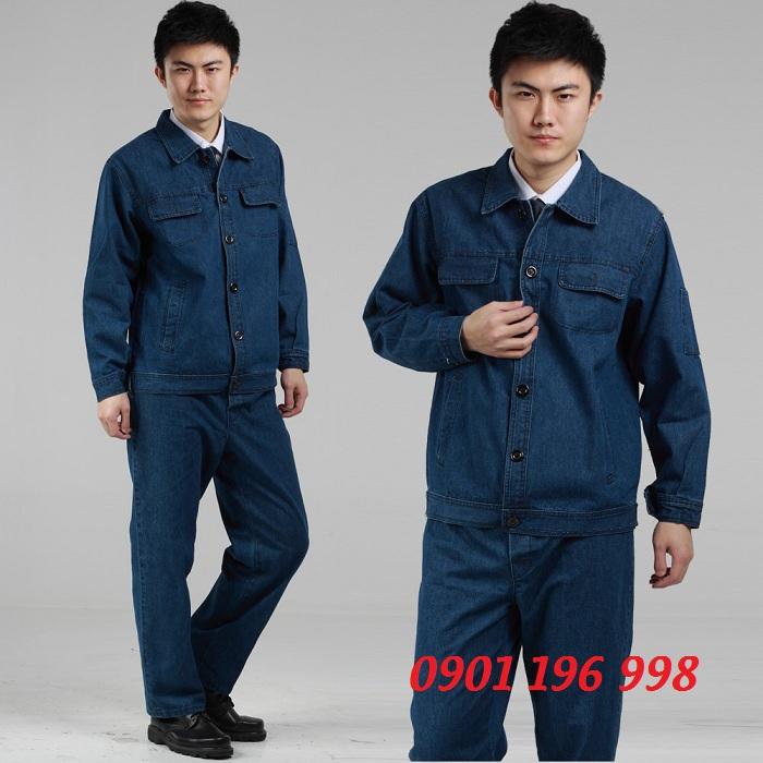 Sản xuất đồng phục công nhân xây dựng, may áo kỹ sư công trình giá rẻ