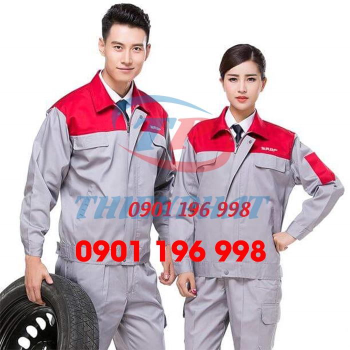 Công ty nào may đồng phục công nhân, sản xuất quần áo môi trường, may quần áo cơ khí