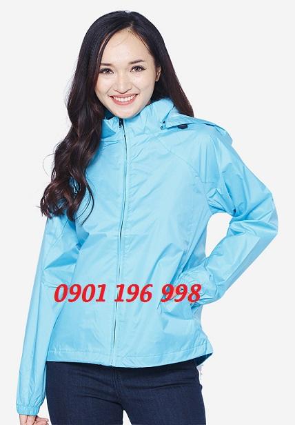 Nơi sản xuất áo khoác áo gió quà tặng sự kiện, may áo gió quảng cáo in thêu logo theo yêu cầu