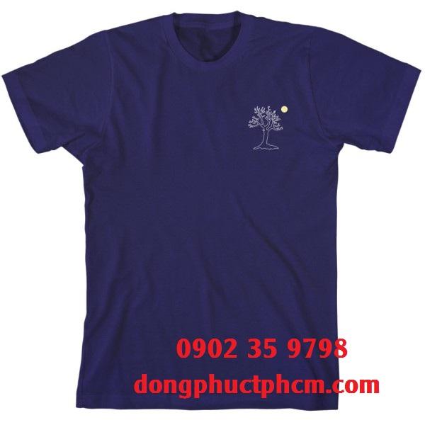 Sản xuất áo thun cổ tròn đồng phục chất lượng giá tốt nhất, in áo thun cổ tròn quận Tân Bình