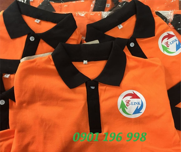 Nơi chuyên sản xuất áo thun đồng phục, may áo thun cổ trụ đẹp, cung cấp áo thun cổ trụ giá rẻ quận Tân Bình