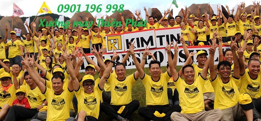 Tìm cơ sở chuyên may áo thun sự kiện, sản xuất áo thun quảng cáo uy tín TPHCM