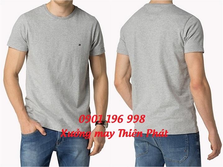 Cung cấp áo thun trơn cổ tròn giá rẻ nhất quận 12