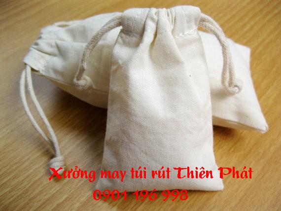 Túi rút quảng cáo, túi rút quà tặng, in túi rút khuyến mãi, in túi rút giá rẻ, in túi rút vải bố theo yêu cầu. LH 0901 196 998