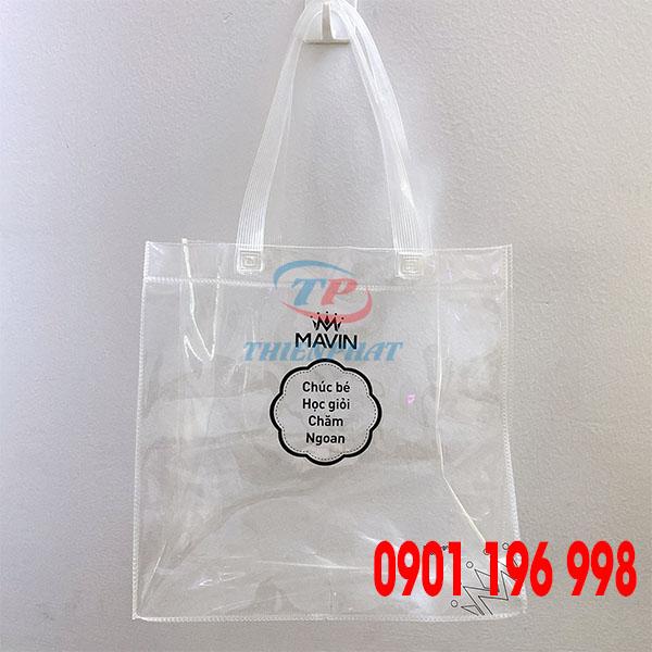 Nơi chuyên sản xuất túi nhựa quà tặng, cung cấp túi nhựa PVC theo yêu cầu, in túi nhựa đẹp