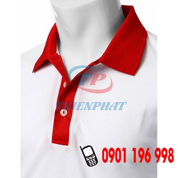 Tìm cơ sở may áo thun hạt mè cổ trụ, sản xuất áo thun đồng phục giá rẻ TPHCM