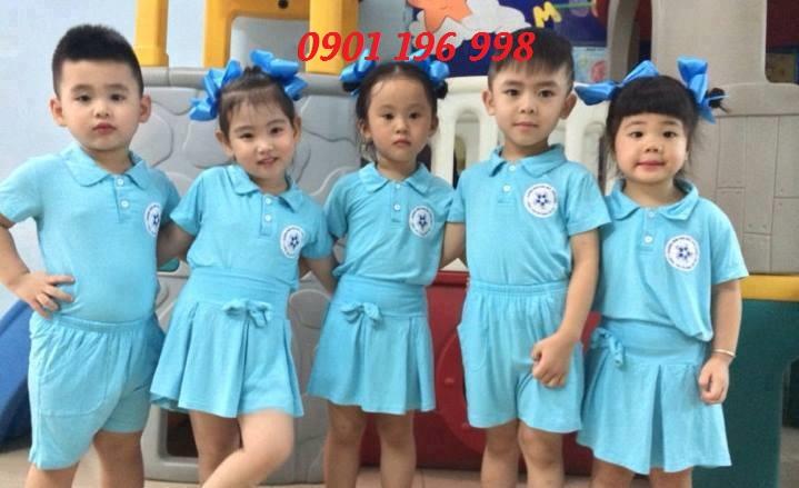 Nơi cung cấp đồng phục mầm non giá rẻ cho bé, cung cấp quần áo đồng phục theo yêu cầu cho trường mầm non
