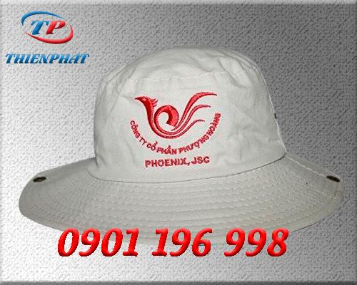 Nơi sản xuất nón tai bèo quà tặng giá rẻ cho công ty thủy sản, mũ nón tai bèo công ty phân bón