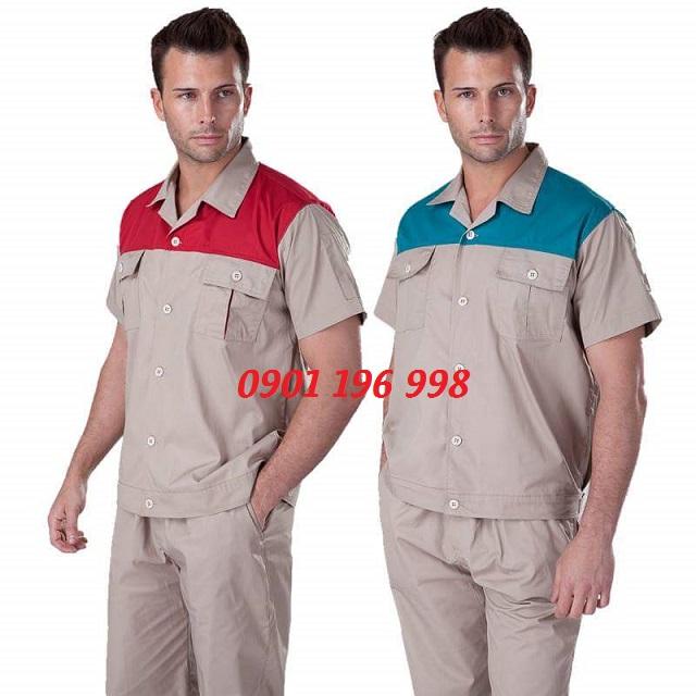 Nơi cung cấp quần áo đồng phục công nhân, may gia công quần áo bảo hộ lao động uy tín