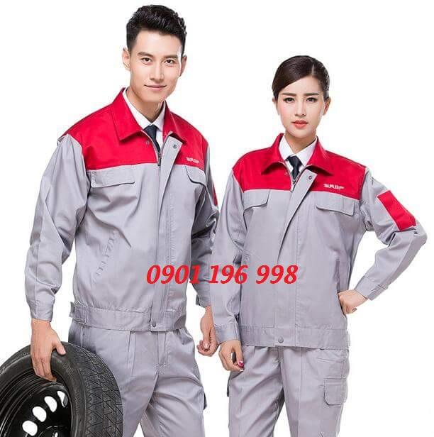Công ty may gia công quần áo bảo hộ lao động giá rẻ theo yêu cầu, tìm đơn vị may áo công nhân cơ khí