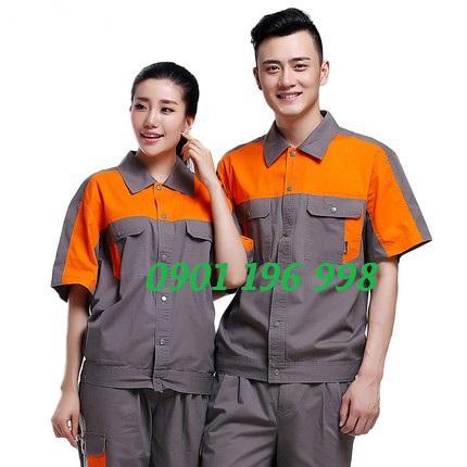 Xưởng sản xuất quần áo công nhân, may quần áo bảo hộ lao động giá tốt theo yêu cầu