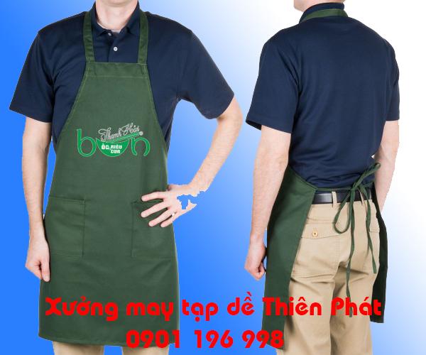 Sản xuất tạp dề tại Nha Trang, may tap de tai Ha Noi, may tap de tai Vung Tau, may tap de dau bep, may tap de quan ca phe. LH : 0901 196 998